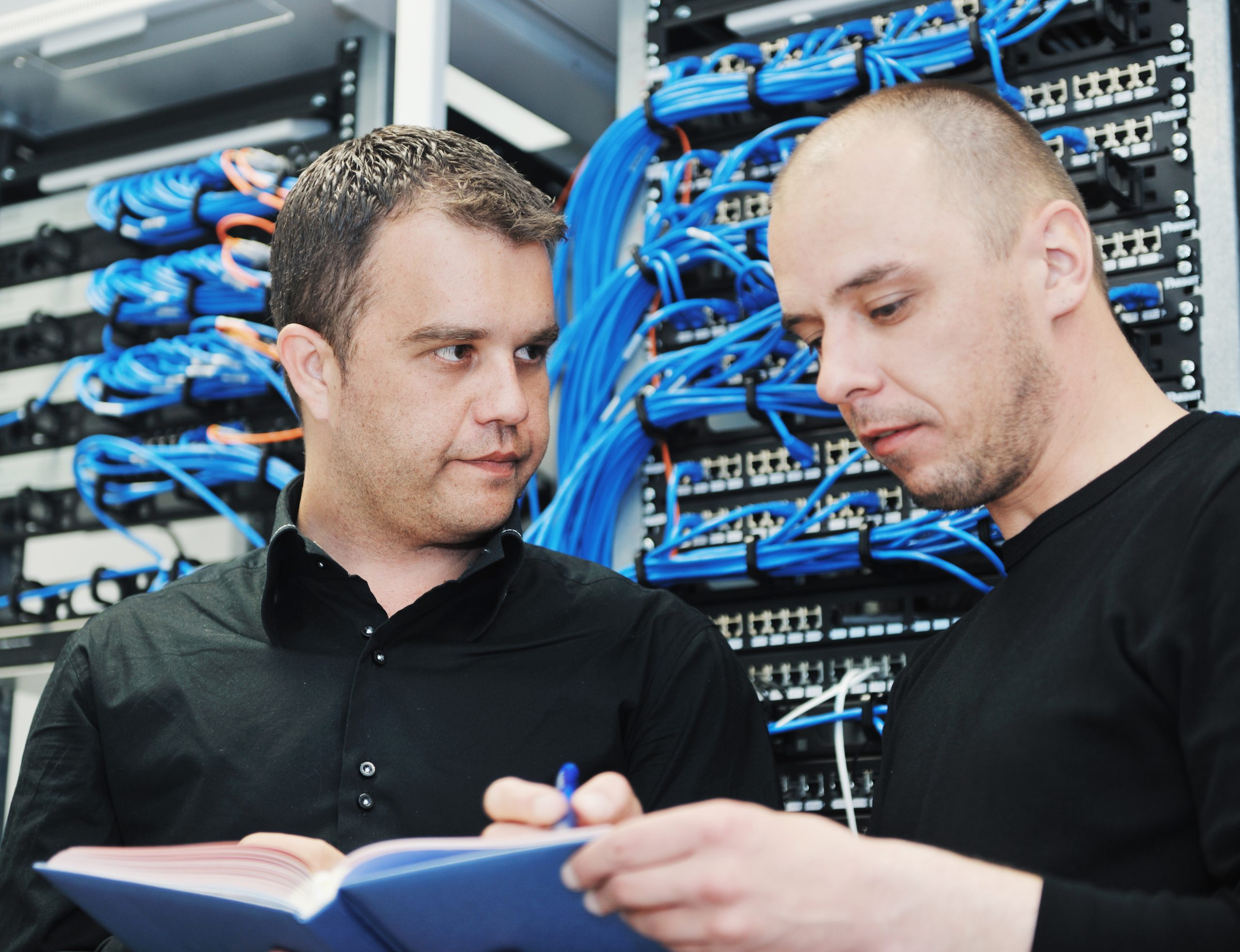 Network cabling installers